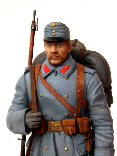 Фигурки: Пехотинец армии Австро-Венгрии, 1914 г., фото #7