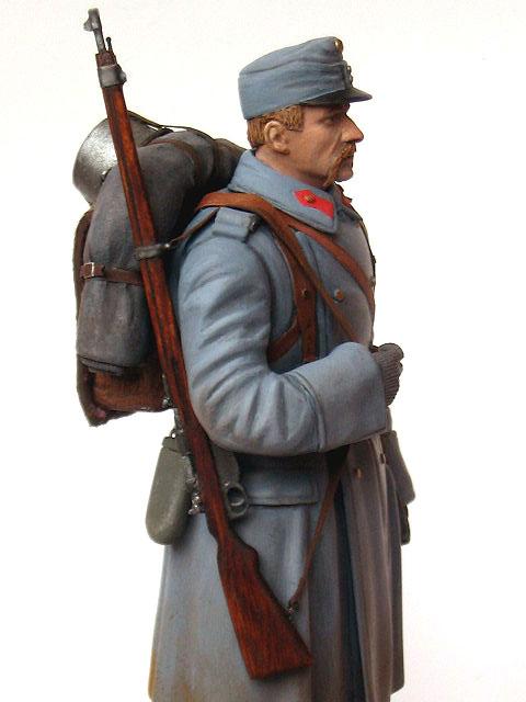 Фигурки: Пехотинец армии Австро-Венгрии, 1914 г., фото #8