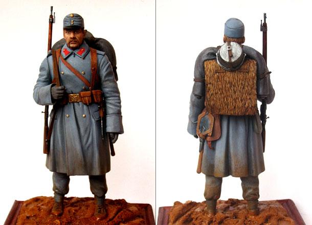 Фигурки: Пехотинец армии Австро-Венгрии, 1914 г.
