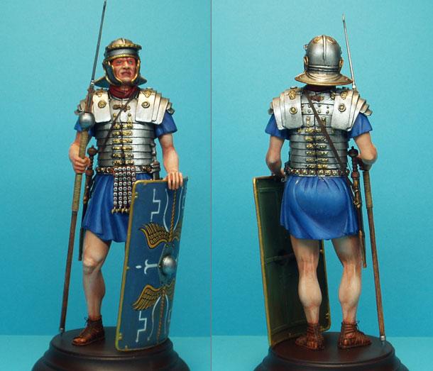 Фигурки: Римский легионер, II век н.э.