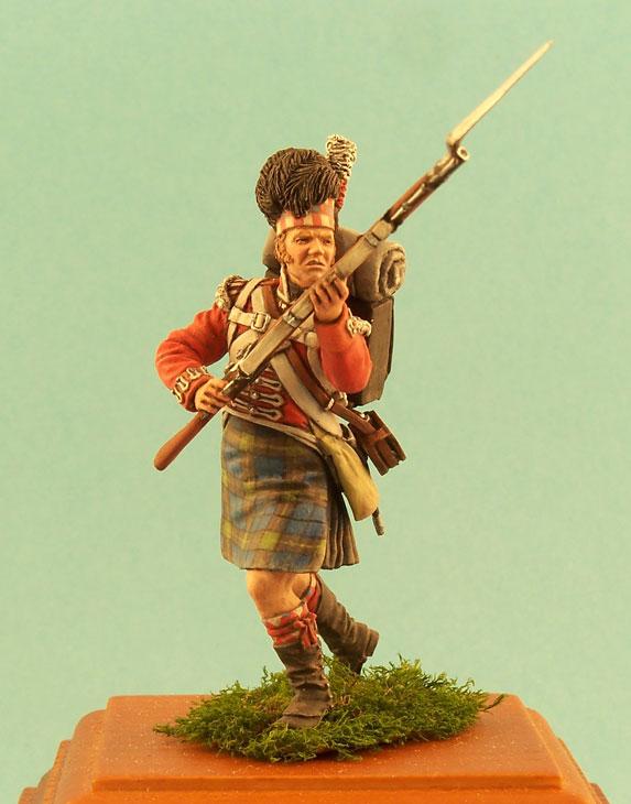 Фигурки: Английский и шотландский пехотинцы, 1812г., фото #1
