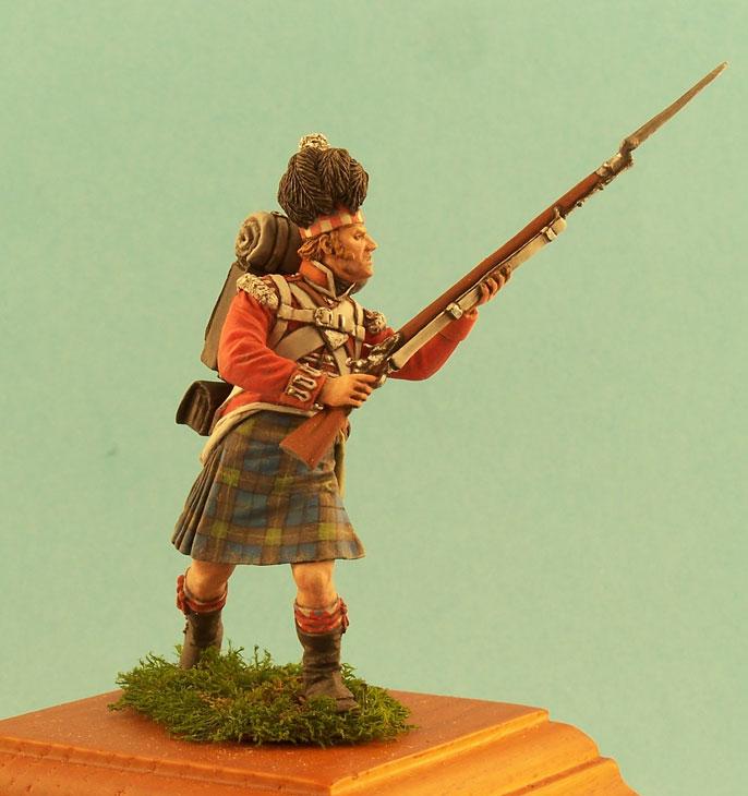 Фигурки: Английский и шотландский пехотинцы, 1812г., фото #4