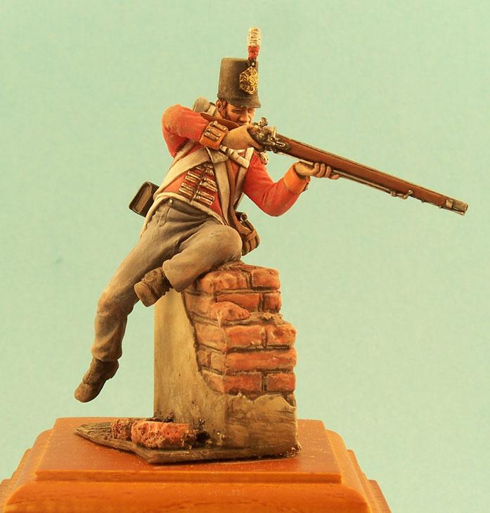 Фигурки: Английский и шотландский пехотинцы, 1812г., фото #8