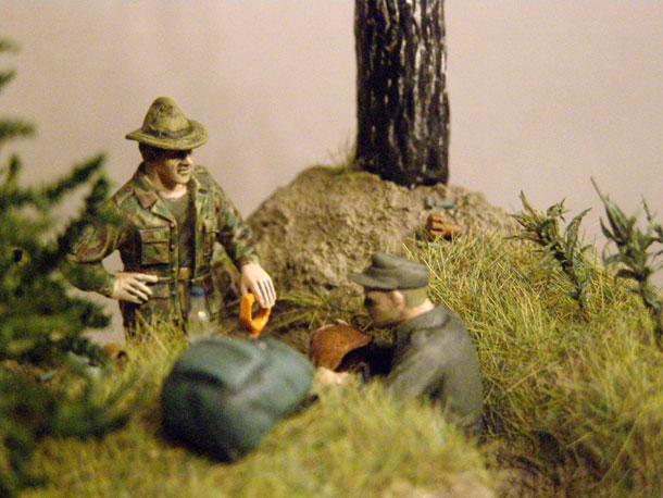 Диорамы и виньетки: Давным-давно была война…