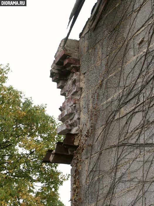 Фрагмент кирпичной кладки , Крипп, Западная Германия (Копилка Diorama.Ru)
