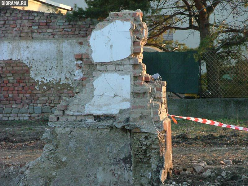 Развалины здания, Вена, Австрия (Копилка Diorama.Ru)