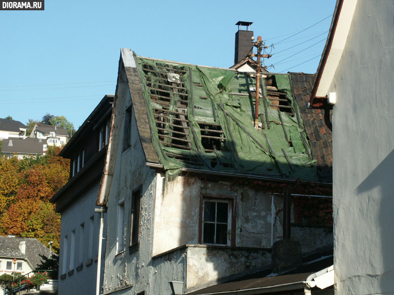 Фасад дома, Крипп, Западная Германия (Копилка Diorama.Ru)
