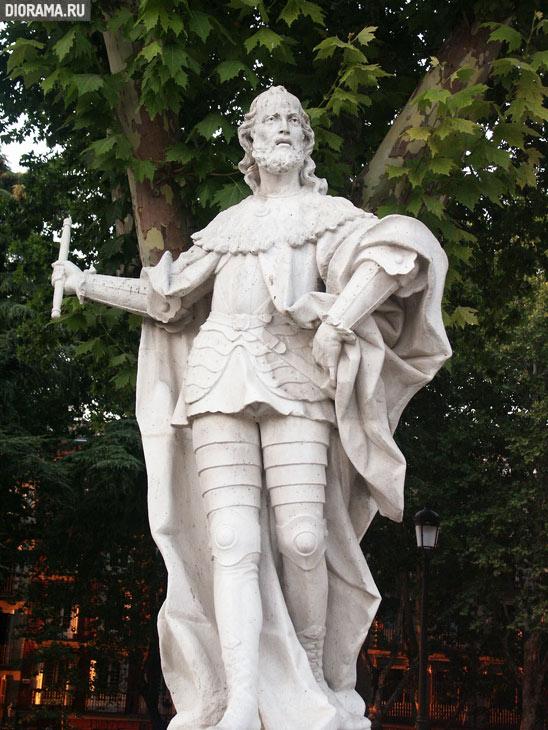 Статуя, Мадрид (Копилка Diorama.Ru)