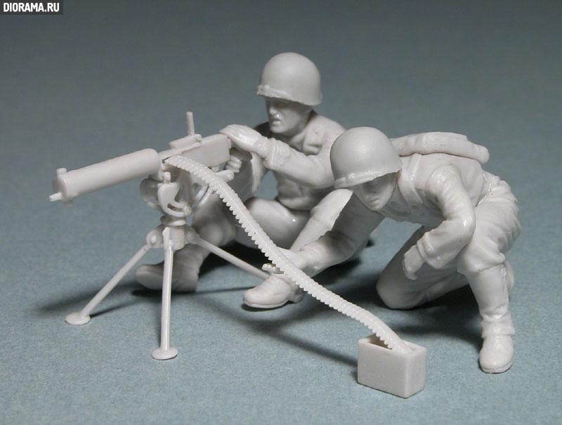 Обзоры: U.S. Mashine gun team, Europe, 1944., фото #1