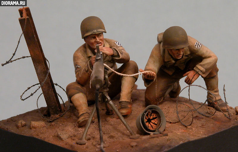 Обзоры: U.S. Mashine gun team, Europe, 1944., фото #11