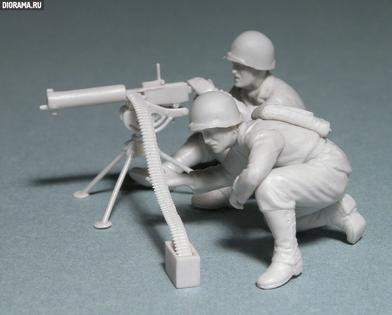 Обзоры: U.S. Mashine gun team, Europe, 1944., фото #2