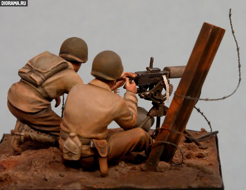 Обзоры: U.S. Mashine gun team, Europe, 1944., фото #6