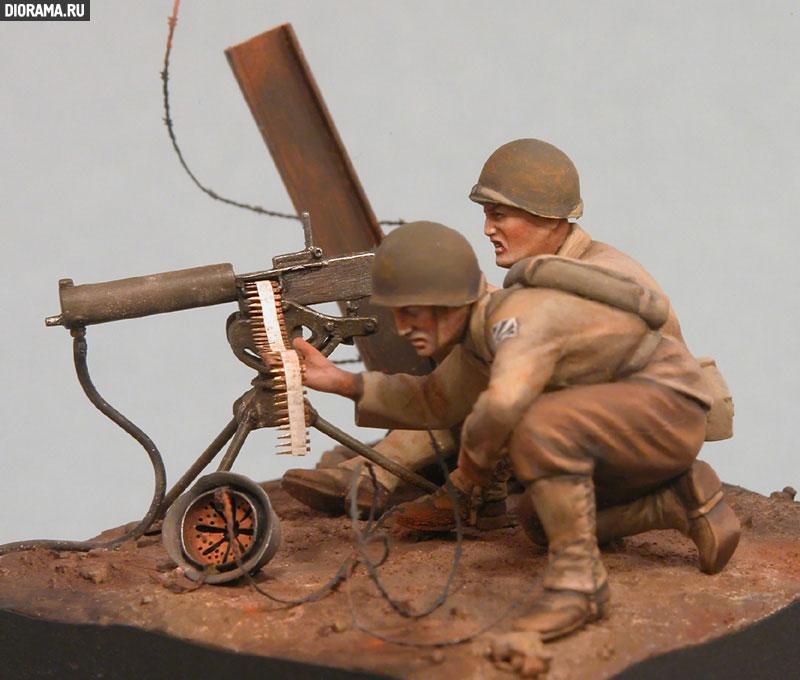 Обзоры: U.S. Mashine gun team, Europe, 1944., фото #9