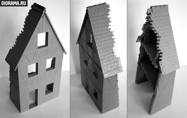 Обзоры: Немецкое деревенское здание