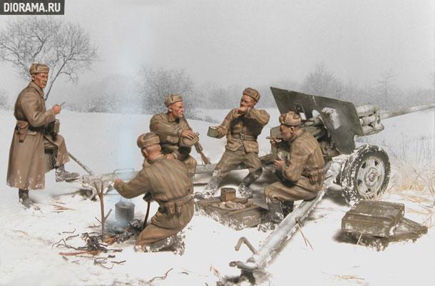 Обзоры: Советские артиллеристы на отдыхе