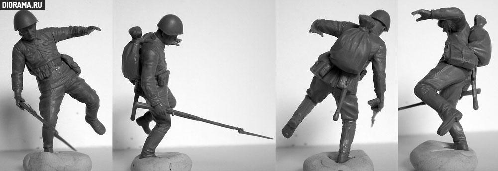 Обзоры: Немецкая/советская пехота / рукопашный бой, фото #13