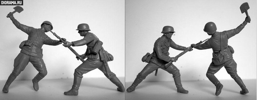 Обзоры: Немецкая/советская пехота / рукопашный бой, фото #18