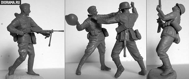 Обзоры: Немецкая/советская пехота / рукопашный бой