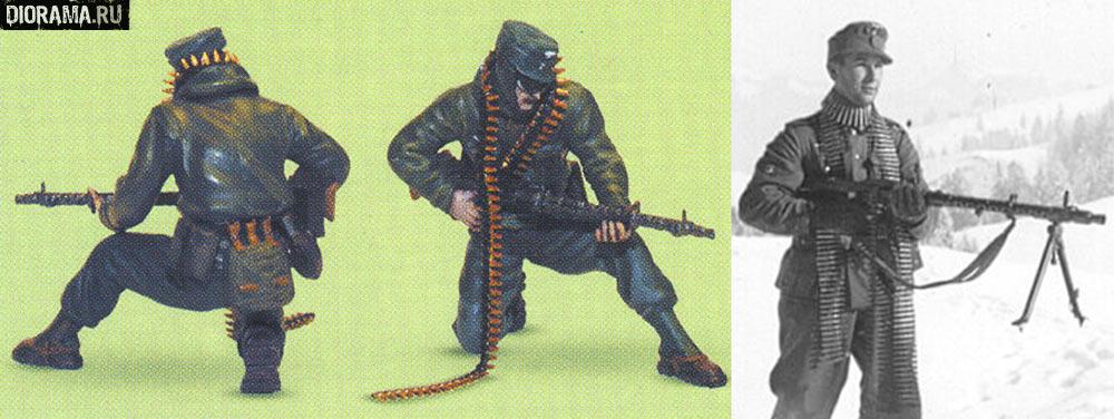 южный сектор советско-германского фронта, осень 1942 г оберфельдфебель одет в стандартную ветрозащитную горную