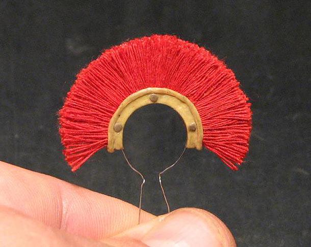 Технологии: Изготовление плюмажа из ниток