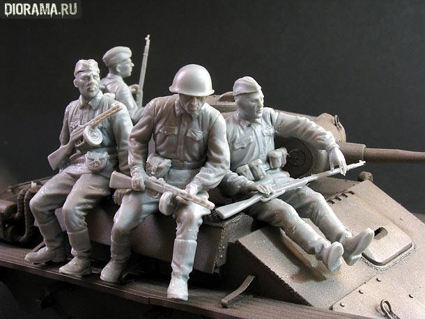 Обзоры: Советский танковый десант