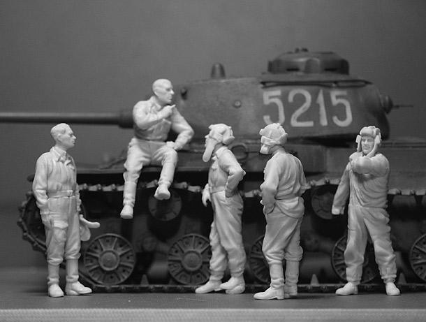 Обзоры: Советские танкисты на отдыхе