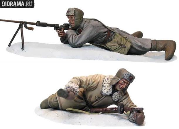 Обзоры: Советские бронебойщик и пехотинец