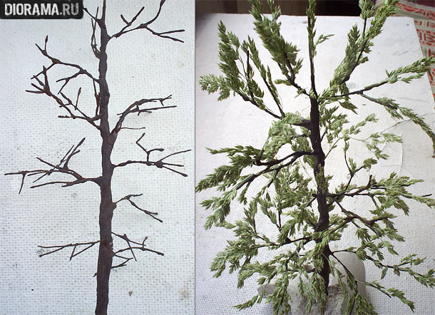 Технологии: Изготовление дерева