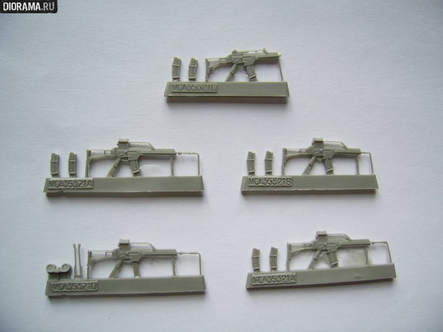 Обзоры: Штурмовые винтовки G36 в миниатюре, фото #2
