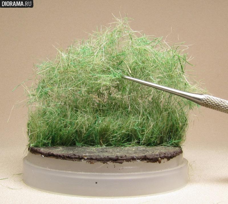 Как самому сделать траву