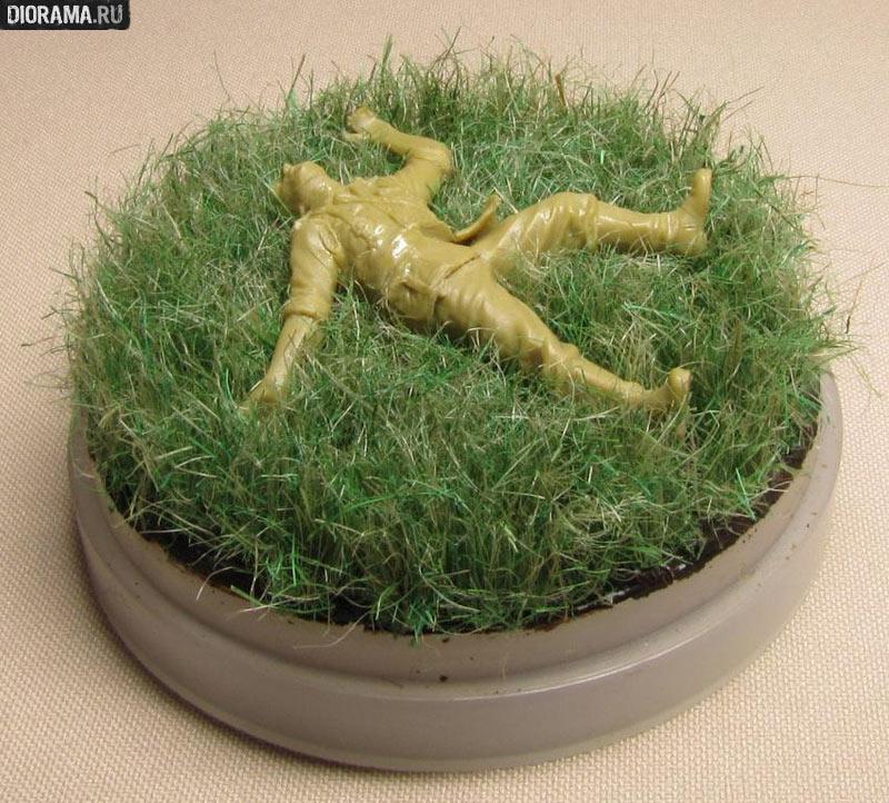 Из чего сделать траву для поделок 25