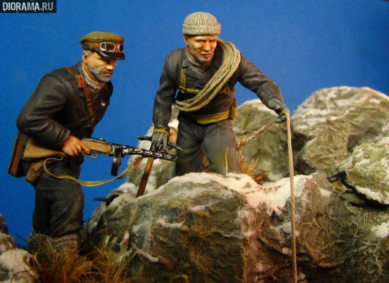 История одной работы: Перевал Клухорский, высота 1360., фото #67