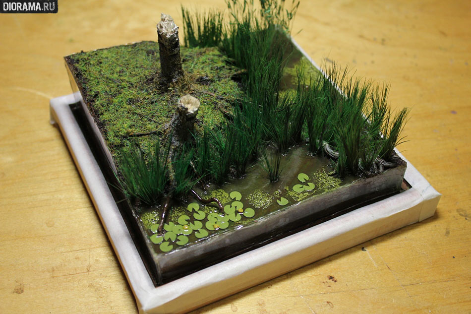 Декоративное болотце своими руками