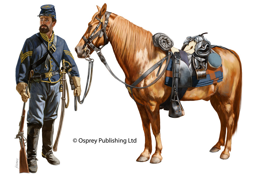 Обзоры: 8-й Пенсильванский кавалерийский полк в сражении под Чанселорвиллем 2 мая 1863 г., фото #22