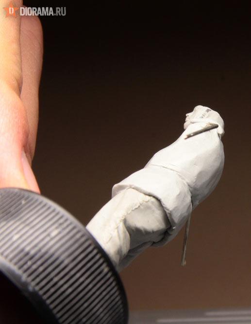 Технологии: Лепка немецкой двухсторонней куртки, фото #22