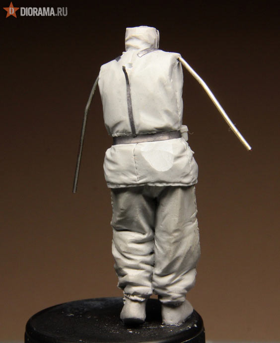 Технологии: Лепка немецкой двухсторонней куртки, фото #48