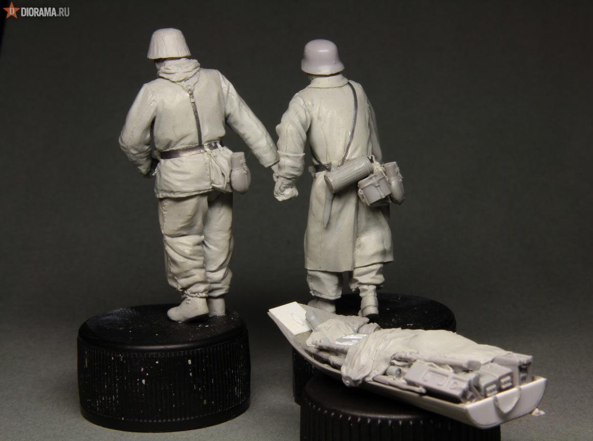 Технологии: Лепка немецкой двухсторонней куртки, фото #63