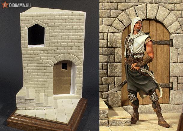 Технологии: Изготовление фрагмента средневекового замка