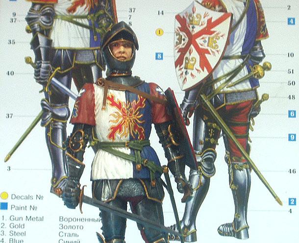 История одной работы: Бургундский рыцарь