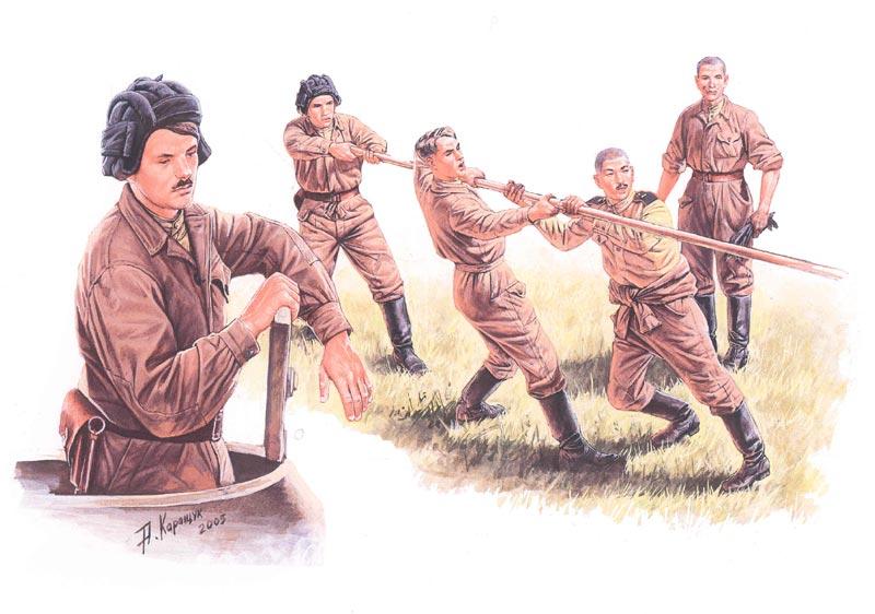 Обзоры: Советские танкисты за работой, фото #1