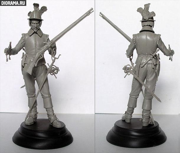 Обзоры: Нидерландский мушкетёр, XVIIв.