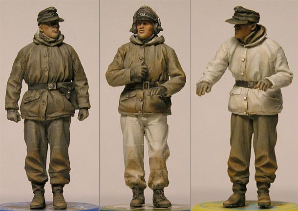 Обзоры: Немецкий танковый экипаж, зима, 1943-45
