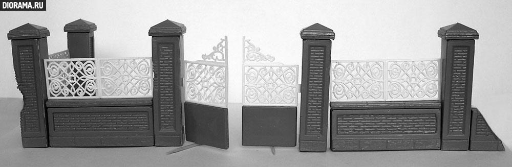 Обзоры: Парковая ограда и ворота, фото #7