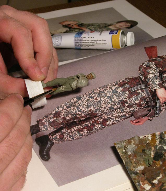 Технологии: Рисуем камуфляжную униформу, фото #2