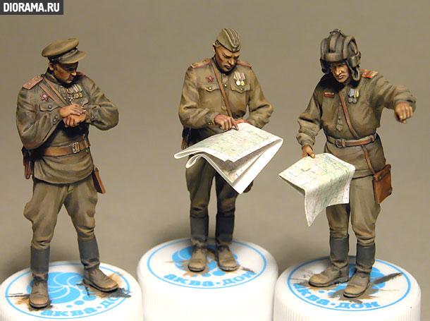 Обзоры: Советские офицеры на совещании