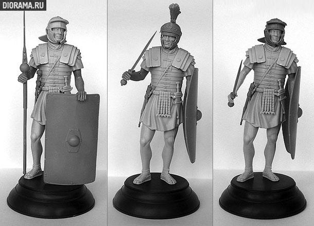 Обзоры: Римские легионеры и преторианский гвардеец
